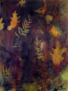 Douceur d'automne, 24×18, Tech. mixtes